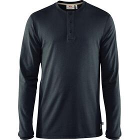 Fjällräven Greenland Re-Cotton Buttoned LS Shirt Men Dark Navy